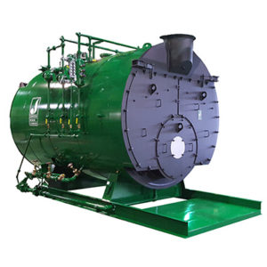 picture of a 4 pass boiler