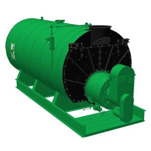 2 pass scotch marine boiler